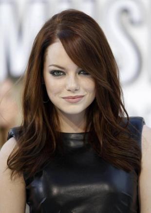 Цвет волос морозный каштан, темный цвет волос для девушек со светлой кожей
