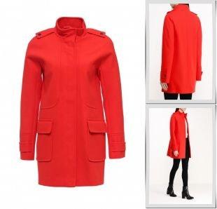 Красные пальто, пальто dorothy perkins, весна-лето 2016
