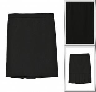 Черные юбки, юбка acoola, осень-зима 2016/2017