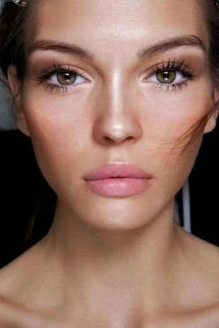 Макияж для больших глаз, сияющий летний макияж