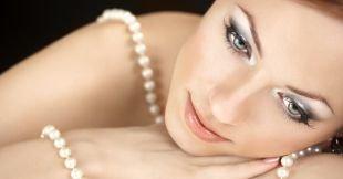 Свадебный макияж в серых тонах, повседневный макияж для серых глаз