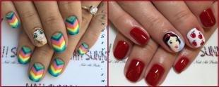 Детский маникюр, дизайн ногтей для девочек-подростков