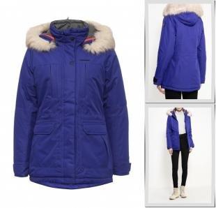 Синие куртки, куртка утепленная torstai, осень-зима 2016/2017