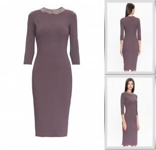 Фиолетовые платья, платье a.karina,