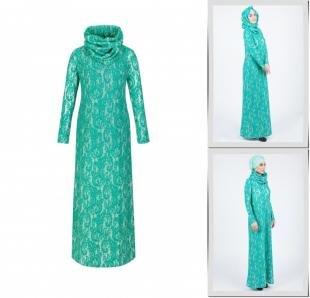 Зеленые платья, платье bella kareema,
