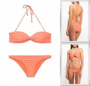 Оранжевые купальники, купальник jennyfer, весна-лето 2016
