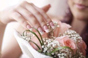 Свадебный маникюр: 60 фото лучших идей