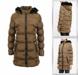 Хаки куртки, куртка утепленная brave soul, осень-зима 2015/2016