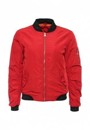 Красные куртки, куртка утепленная b.style, осень-зима 2016/2017