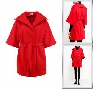 Красные пальто, пальто tutto bene, осень-зима 2015/2016