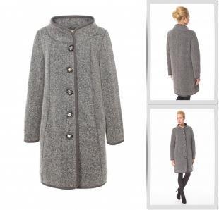 Серые пальто, пальто московская меховая компания,