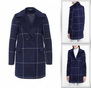 Синие пальто, пальто tantra, осень-зима 2016/2017