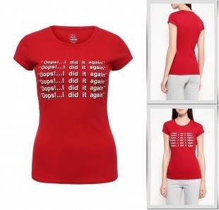 Красные футболки, футболка твое, осень-зима 2016/2017