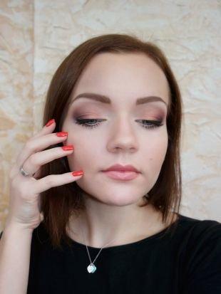 Макияж для увеличения глаз, профессиональный макияж для серо-голубых глаз
