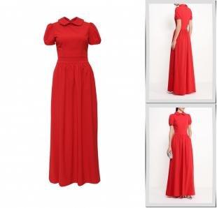 Красные платья, платье olivegrey, весна-лето 2016