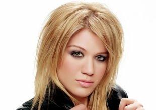 Цвет волос натуральный блондин на средние волосы, каскадная стрижка для волос средней длины