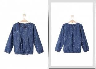 Синие блузки, блуза s.oliver, осень-зима 2016/2017