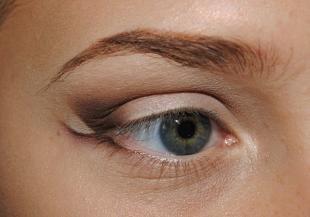 """Свадебный макияж для серых глаз, макияж """"бабетта"""" для серых глаз"""