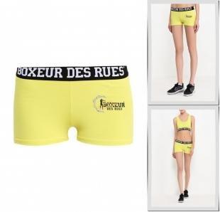 Желтые шорты, шорты спортивные boxeur des rues, осень-зима 2016/2017