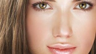 """Макияж для шатенок с зелеными глазами, макияж """"чистого лица"""" для шатенок"""