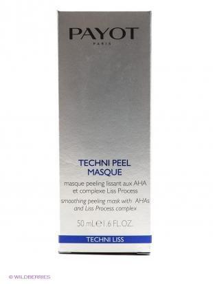 Маска-скраб, payot разглаживающая маска-скраб 50 мл techni liss