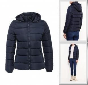 Синие куртки, куртка утепленная adrixx, осень-зима 2016/2017