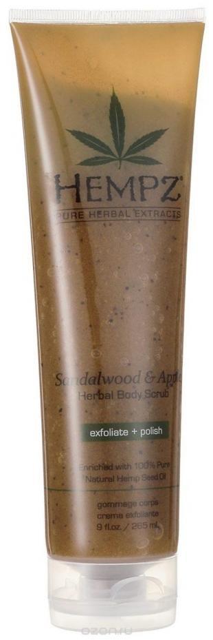 Скраб после эпиляции, hempz скраб для тела sandalwood and apple body scrub 265 мл