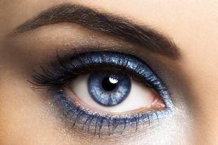 Макияж для голубых глаз: 60 фото идей красивого макияжа
