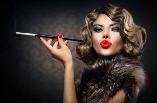 Макияж в стиле Чикаго, броский макияж в стиле чикаго 30-х годов