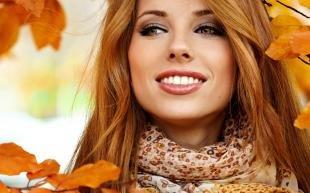 Макияж для рыжих с серыми глазами, осенний макияж