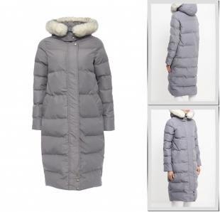 Серые куртки, куртка утепленная imocean, осень-зима 2016/2017