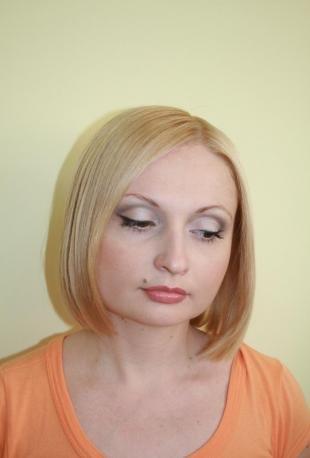 Макияж для опущенных уголков глаз, макияж на каждый день для квадратного лица