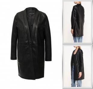 Черные пальто, пальто lost ink, весна-лето 2016