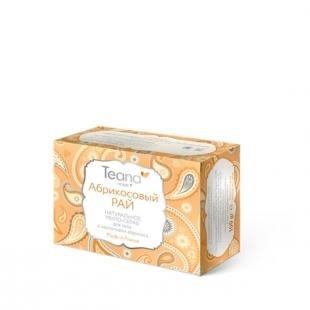 """Эффективный скраб для лица, teana натуральное мыло """"абрикосовый рай"""""""