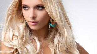 Макияж для карих глаз под синее платье, макияж для кареглазых блондинок