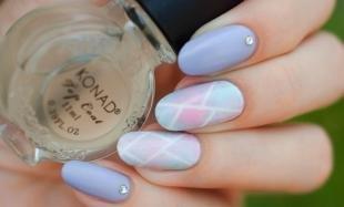 Градиентный маникюр, дизайн ногтей в пастельных тонах